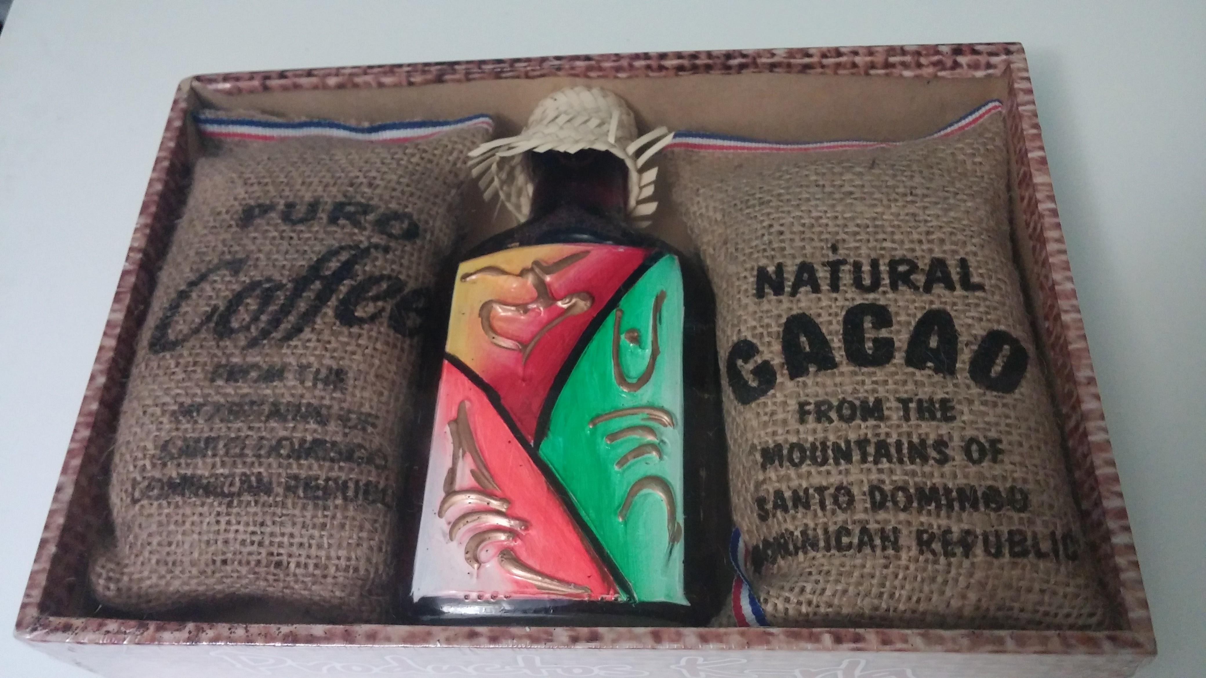 Cafe, mamajuana y cacao
