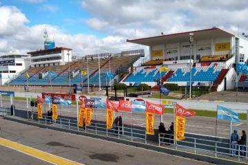 Palco oficial del autódromo de Buenos Aires