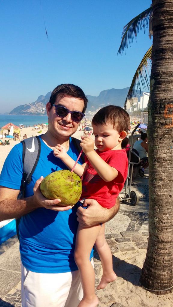 Un coco en Ipanema