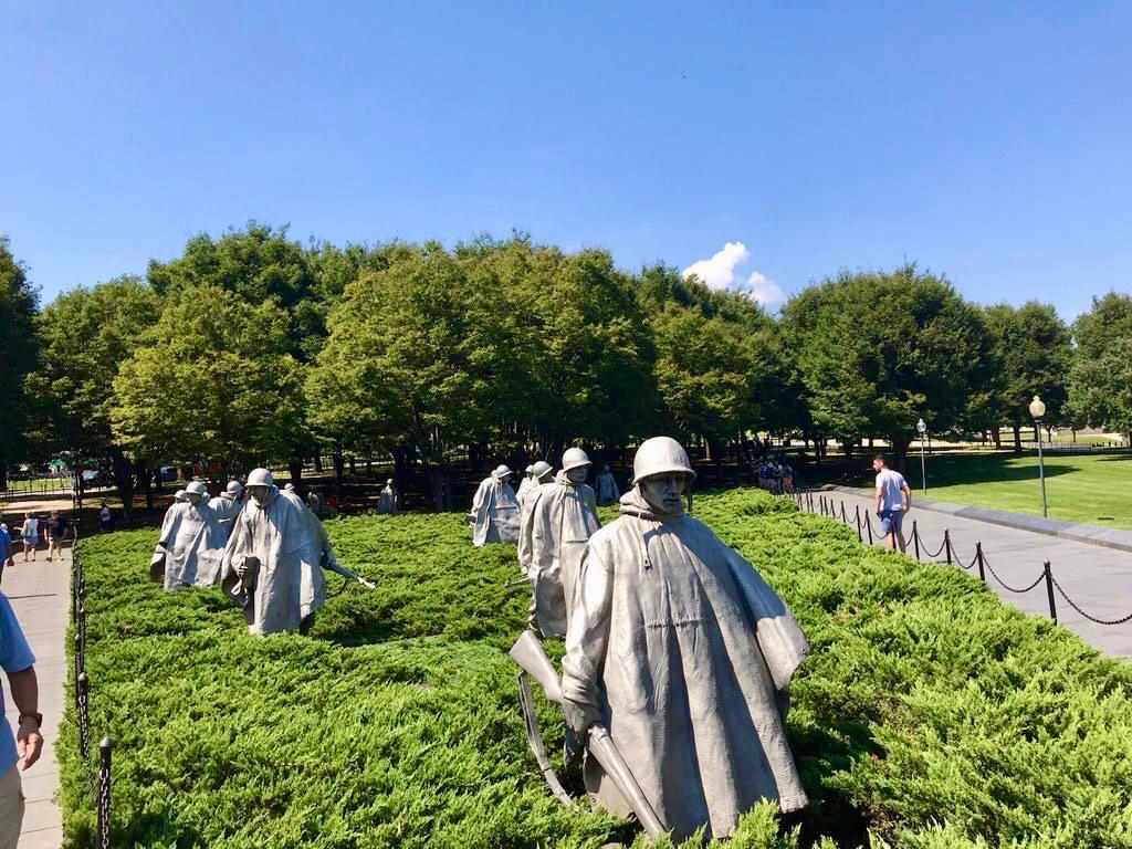 Monumento Conmemorativo a los Veteranos de la Guerra de Corea